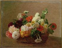 Flower Still Life  von Ignace Henri Jean Fantin-Latour