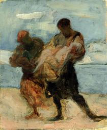 The Rescue von Honore Daumier