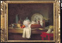 The Officers' Mess or The Remains of a Lunch von Jean-Baptiste Simeon Chardin