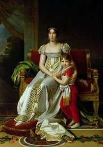 Hortense de Beauharnais  by Baron Francois Pascal Simon Gerard