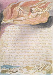 "The Marriage of Heaven and Hell; ""As a new heaven is begun"" von William Blake"