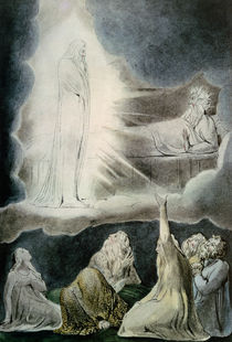 The Vision of Eliphaz von William Blake