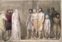 St. Gregory and the British Captives  von William Blake