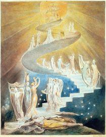 Jacob's Ladder  von William Blake
