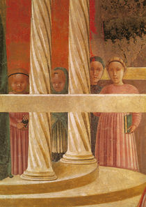 The Presentation of Mary in the Temple von Paolo Uccello