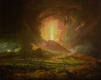 An Eruption of Vesuvius von Joseph Wright of Derby