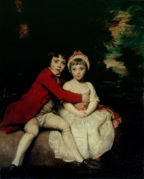 John Parker and his sister Theresa von Sir Joshua Reynolds