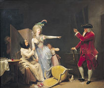 The Jealous Old Man by Louis Leopold Boilly