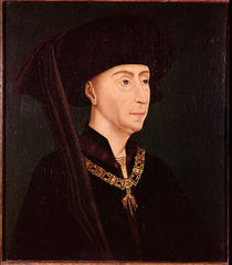 Portrait of Philippe III  by Rogier van der Weyden