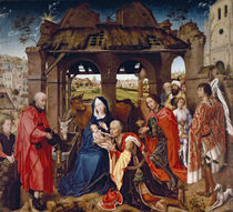 The Adoration of the Magi von Rogier van der Weyden