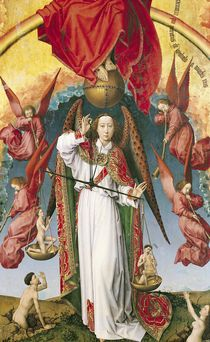 St. Michael Weighing the Souls von Rogier van der Weyden