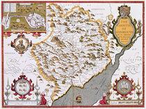 The Countye of Monmouth von John Speed