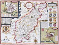 Northamtonshire by John Speed