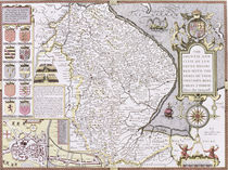 The Countie and Citie of Lyncolne by John Speed