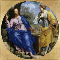Christ and the Woman of Samaria at the Well by Philippe de Champaigne