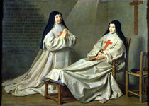 Portrait of Mother Catherine-Agnes Arnauld  by Philippe de Champaigne