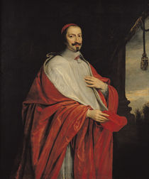 Portrait of Jules Mazarin  von Philippe de Champaigne
