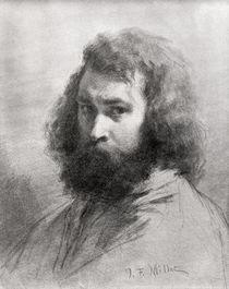 Self Portrait by Jean-Francois Millet