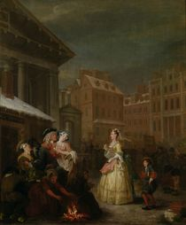 The Four Times of Day: Morning von William Hogarth