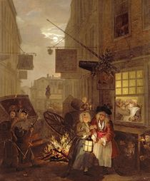 The Four Times of Day: Night by William Hogarth
