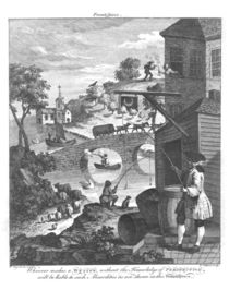 The importance of knowing perspective von William Hogarth