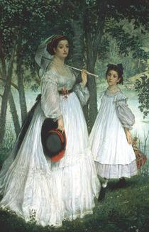 The Two Sisters: Portrait von James Jacques Joseph Tissot