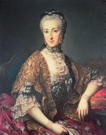 Archduchess Maria Anna Habsburg-Lothringen von Martin II Mytens or Meytens