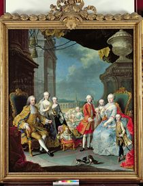 Franz Stephan I  by Martin II Mytens or Meytens