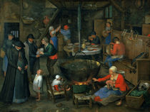 The Distinguished Visitor  by Jan Brueghel the Elder