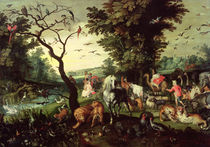 The Animals Entering Noah's Ark  by Jan Brueghel the Elder
