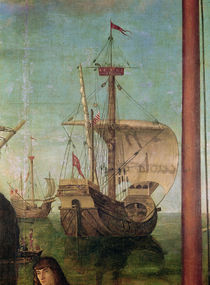 The Meeting and Departure of the Betrothed by Vittore Carpaccio