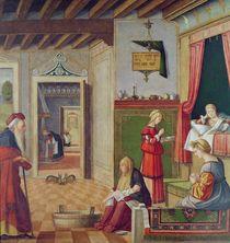 The Birth of the Virgin von Vittore Carpaccio