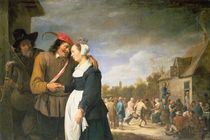 A Peasant Wedding by David the Younger Teniers