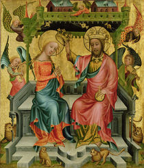 The Crowning of the Virgin by Master Bertram of Minden