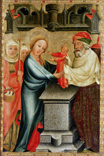 The Presentation of Christ in the Temple by Master Bertram of Minden