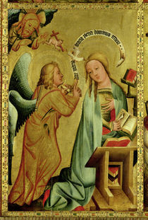 The Annunciation from the High Altar of St. Peter's in Hamburg by Master Bertram of Minden