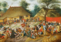 Wedding Feast  by Pieter Brueghel the Younger