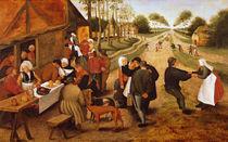 A Flemish Kermesse  von Pieter Brueghel the Younger