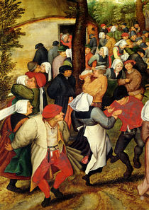 Rustic Wedding von Pieter Brueghel the Younger