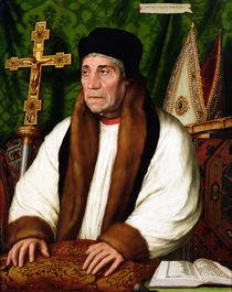 Portrait of William Warham  von Hans Holbein the Younger