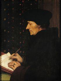 Portrait of Desiderius Erasmus  von Hans Holbein the Younger
