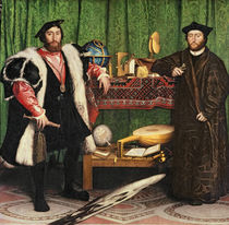 The Ambassadors von Hans Holbein the Younger