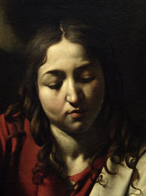 The Supper at Emmaus by Michelangelo Merisi da Caravaggio