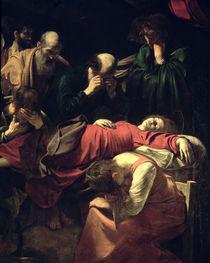 The Death of the Virgin von Michelangelo Merisi da Caravaggio