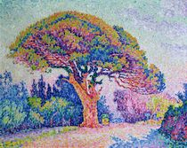 The Pine Tree at St. Tropez von Paul Signac