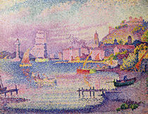 Leaving the Port of Saint-Tropez von Paul Signac