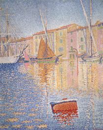 The Red Buoy von Paul Signac