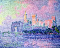 The Chateau des Papes von Paul Signac