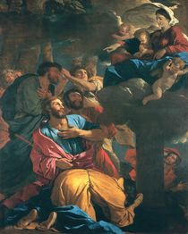 The Apparition of the Virgin the St. James the Great by Nicolas Poussin