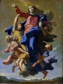The Assumption of the Virgin by Nicolas Poussin